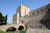 Castle of Sao Jorge in Lisbon, Portugal