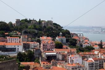 Sao Jogre - the old castle in Lisbon, Portugal