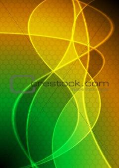 Beautiful vibrant background