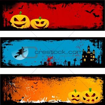 Grunge Halloween backgrounds