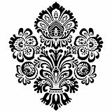 Vector Ornate Floral Ornament