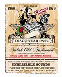 Vintage Disco Flyer