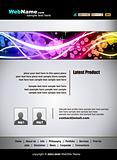 Futuristic Web Site template