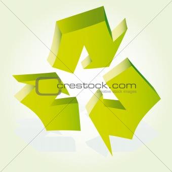 Arrows vector abstract