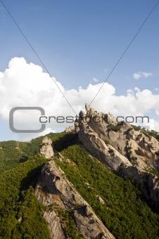 Small Dolomites in Italy Basilicata