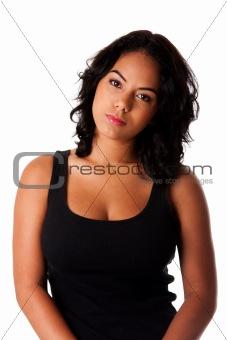 Casual Hispanic young woman