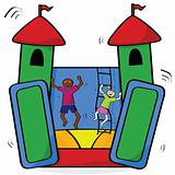 Bouncing castle