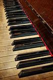 Grunge piano musical background