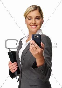 Business phone joy