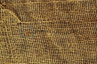 Old grunge sack cloth vanvas texture