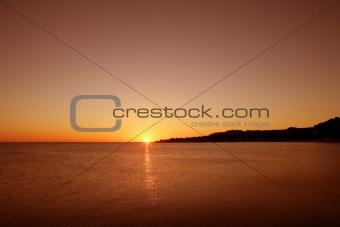 beautiful sky sunset colorful