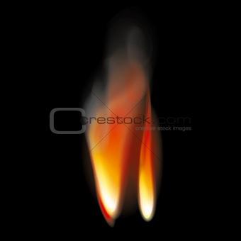 Flame tongues