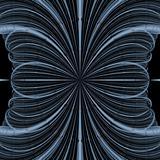 Fractal Blue Blossom