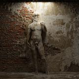 antique sculpture David