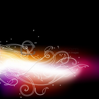 abstract neon background