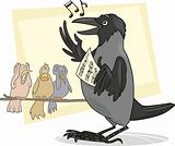 singing crow