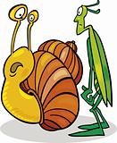 Snail and Grasshopper