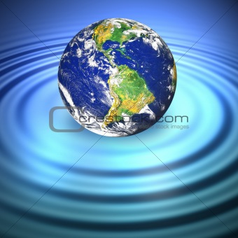 Floating Earth