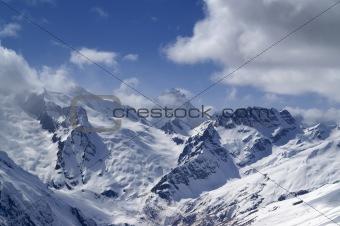 Caucasus Mountains. Sulahat.