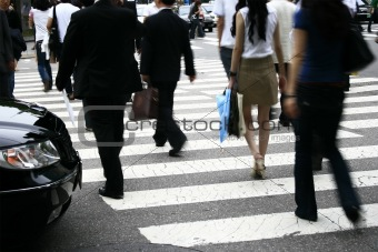 Cross walkers