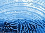 foam on the glass
