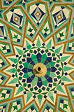 Mosque's floor decorations