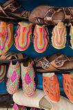Traditional moroccan shoes
