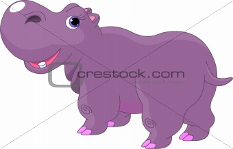 Cartoon Hippo