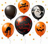 Halloween balloon set