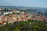 Prague Castel top view