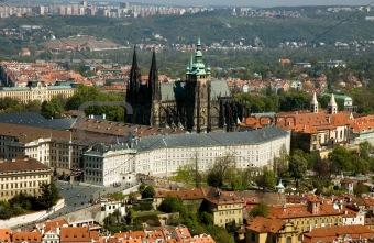 Prague Castel top view