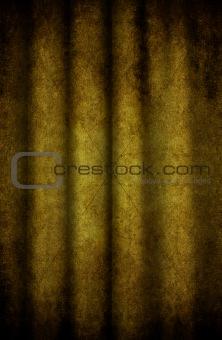 Grunge curtain