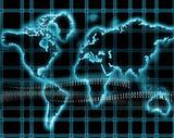 Internet-world map