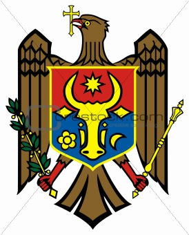 Moldova Coat of Arms