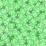 Seamless dollar pattern