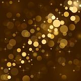 Magic lights, background sparkle, blurred vector light