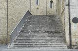Consuls Palace Staircase. Bevagna. Umbria.