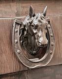 Horse Head Doorknocker.