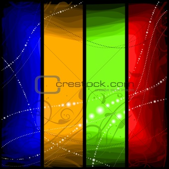 abstract coloured background