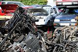 Scrap and cars