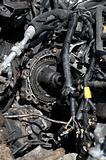 Scrap car parts