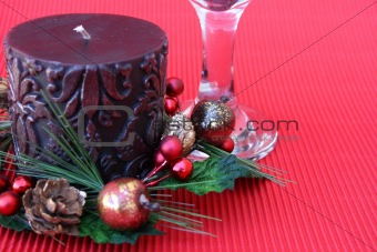 Candle and Glass
