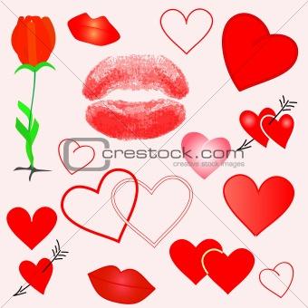 Valentine elements