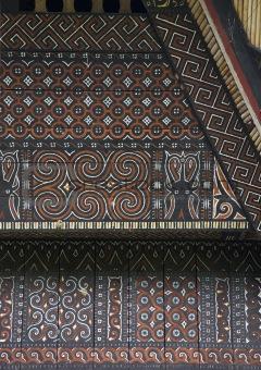 Toraja house façade