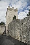 Porta Nuova. Assisi. Umbria.