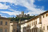 Albornoz fortress. Assisi. Umbria.