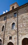 Historic Palace. Montefalco. Umbria.