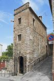 Historic house. Perugia. Umbria.
