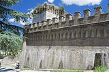 Albornoz fortress. Spello. Umbria.