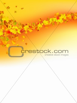 Autumnal concept background